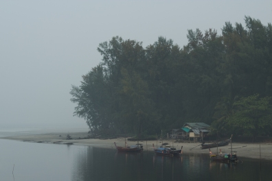 Mornings were often misty but I appreciated the relief from the sun