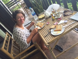 Tamarina resort breakfast